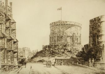 Frederick  Arthur Farrell;  Round Tower, Windsor Castle